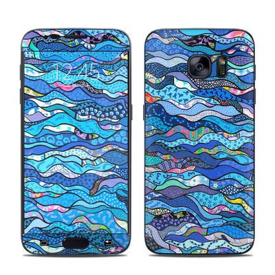 Samsung Galaxy S7 Skin - The Blues