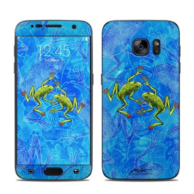 Samsung Galaxy S7 Skin - Tiger Frogs