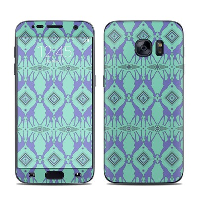 Samsung Galaxy S7 Skin - Tower of Giraffes