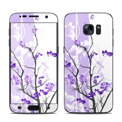 Samsung Galaxy S7 Skin - Violet Tranquility