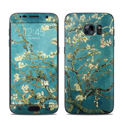 Samsung Galaxy S7 Skin - Blossoming Almond Tree