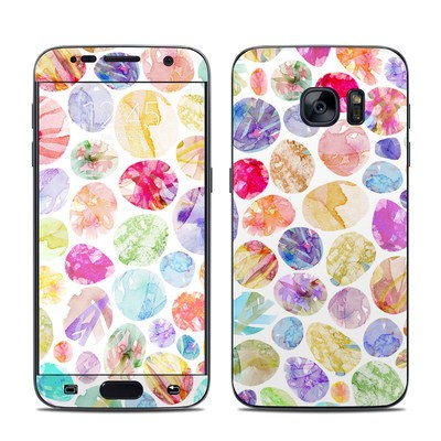 Samsung Galaxy S7 Skin - Watercolor Dots