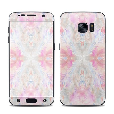 Samsung Galaxy S7 Skin - Watercolor Damask
