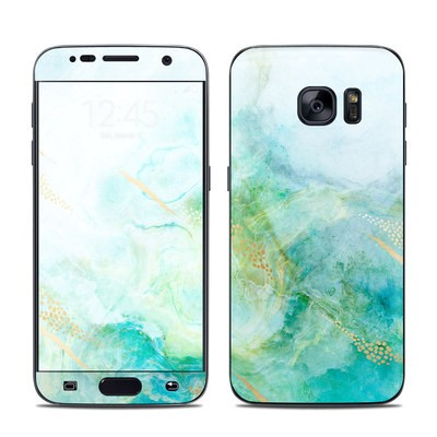Samsung Galaxy S7 Skin - Winter Marble