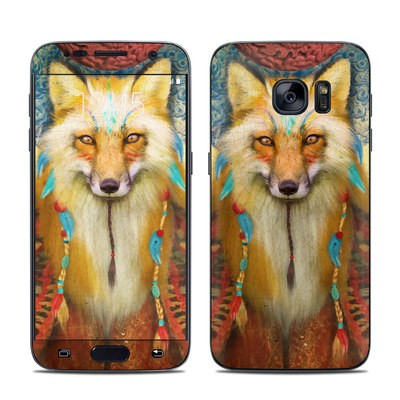 Samsung Galaxy S7 Skin - Wise Fox