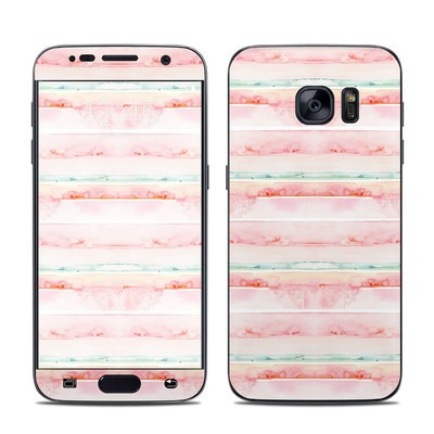 Samsung Galaxy S7 Skin - Watercolor Sunset