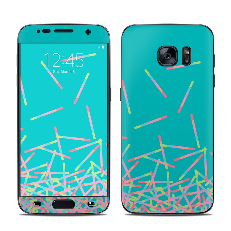 Samsung galaxy s7 skin pop rocks wands by carol van for Samsung wand
