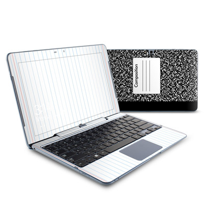 Samsung ATIV Smart PC 500T Skin - Composition Notebook
