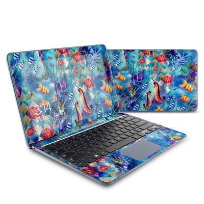 Samsung ATIV Smart PC 500T Skin - Harlequin Seascape