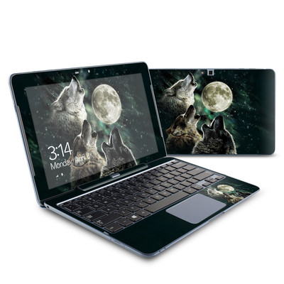 Samsung ATIV Smart PC 500T Skin - Three Wolf Moon