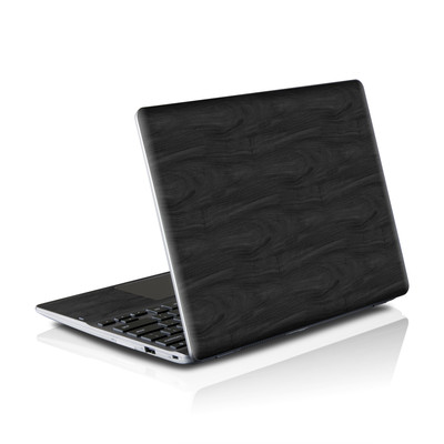 Samsung Series 5 550 Chromebook Skins Skin - Black Woodgrain