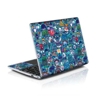 Samsung Series 5 550 Chromebook Skins Skin - Cosmic Ray