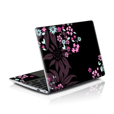 Samsung Series 5 550 Chromebook Skins Skin - Dark Flowers