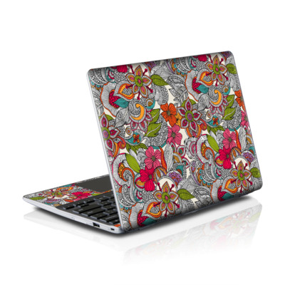 Samsung Series 5 550 Chromebook Skins Skin - Doodles Color