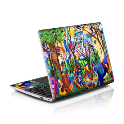 Samsung Series 5 550 Chromebook Skins Skin - Happy Town Celebration