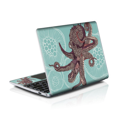 Samsung Series 5 550 Chromebook Skins Skin - Octopus Bloom