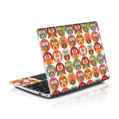 Samsung Series 5 550 Chromebook Skins Skin - Owls Family