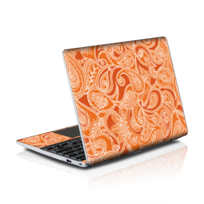Samsung Series 5 550 Chromebook Skins Skin - Paisley In Orange