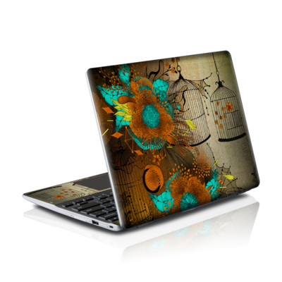Samsung Series 5 550 Chromebook Skins Skin - Rusty Lace