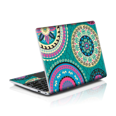 Samsung Series 5 550 Chromebook Skins Skin - Silk Road