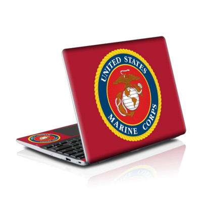 Samsung Series 5 550 Chromebook Skins Skin - USMC Red