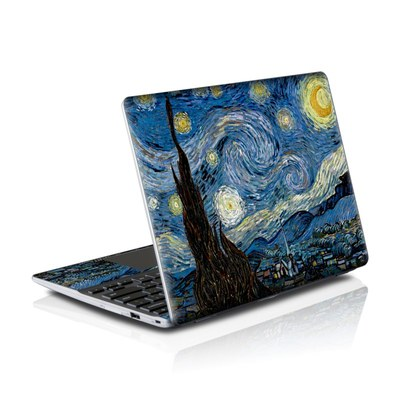 Samsung Series 5 550 Chromebook Skins Skin - Starry Night