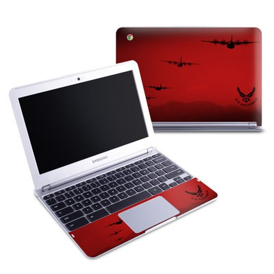 Samsung 11-6 Chromebook Skin - Air Traffic