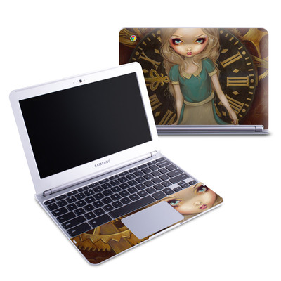 Samsung 11-6 Chromebook Skin - Alice Clockwork