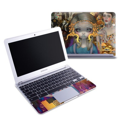 Samsung 11-6 Chromebook Skin - Alice in a Klimt Dream