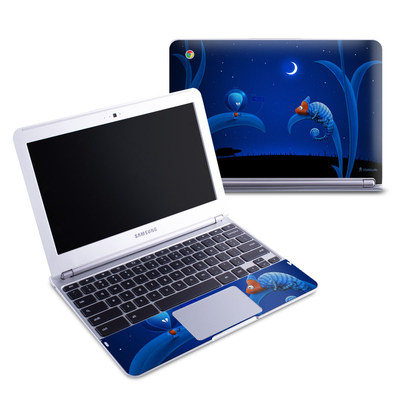 Samsung 11-6 Chromebook Skin - Alien and Chameleon