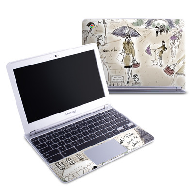 Samsung 11-6 Chromebook Skin - Ah Paris