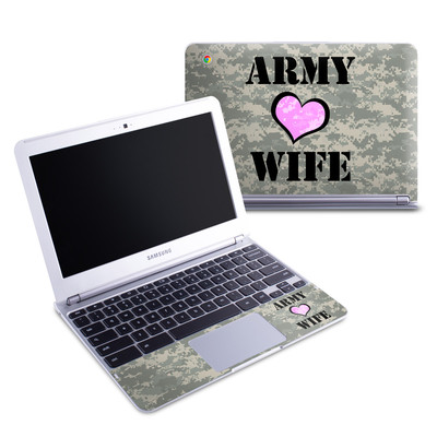 Samsung 11-6 Chromebook Skin - Army Wife