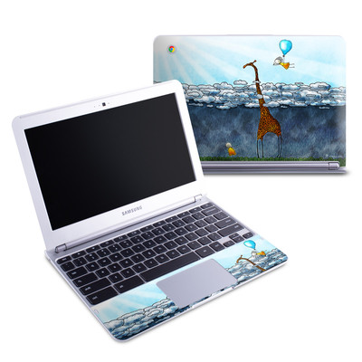 Samsung 11-6 Chromebook Skin - Above The Clouds