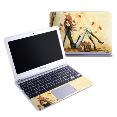 Samsung 11-6 Chromebook Skin - Autumn Leaves