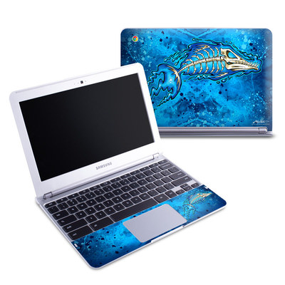 Samsung 11-6 Chromebook Skin - Barracuda Bones