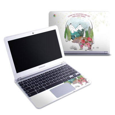 Samsung 11-6 Chromebook Skin - Bear Mountain