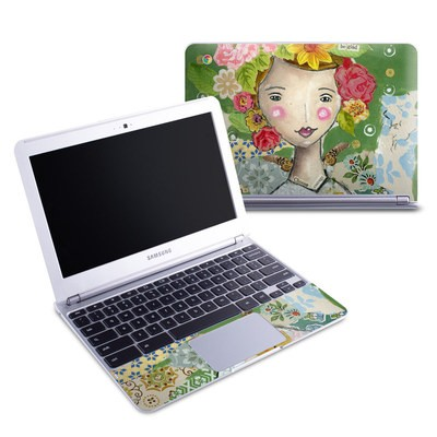 Samsung 11-6 Chromebook Skin - Be Glad