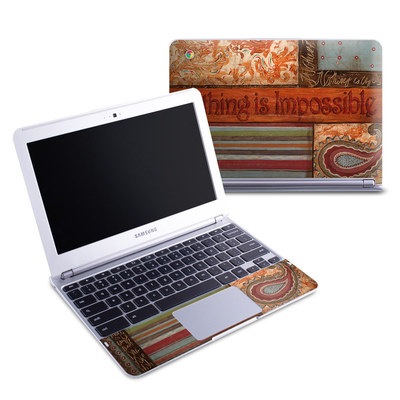 Samsung 11-6 Chromebook Skin - Be Inspired