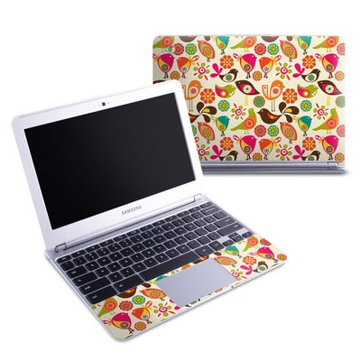 Samsung 11-6 Chromebook Skin - Bird Flowers