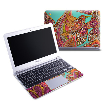 Samsung 11-6 Chromebook Skin - Bird In Paradise