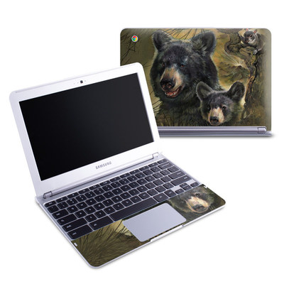 Samsung 11-6 Chromebook Skin - Black Bears