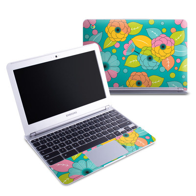 Samsung 11-6 Chromebook Skin - Blossoms