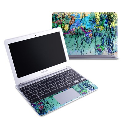 Samsung 11-6 Chromebook Skin - Blue Evening