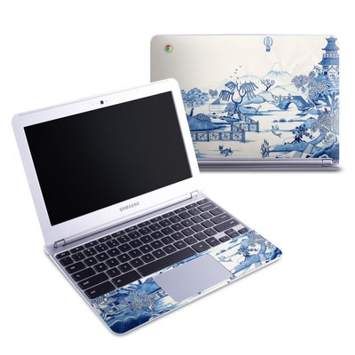 Samsung 11-6 Chromebook Skin - Blue Willow