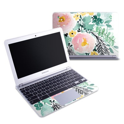 Samsung 11-6 Chromebook Skin - Blushed Flowers