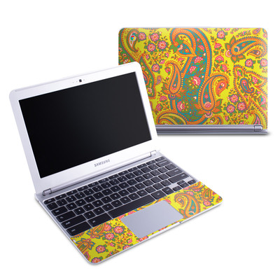 Samsung 11-6 Chromebook Skin - Bombay Chartreuse