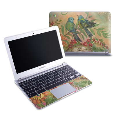 Samsung 11-6 Chromebook Skin - Splendid Botanical