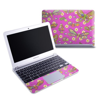 Samsung 11-6 Chromebook Skin - Buggy Sunbrights