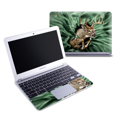 Samsung 11-6 Chromebook Skin - Break Through Deer