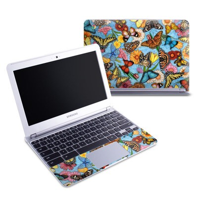 Samsung 11-6 Chromebook Skin - Butterfly Land